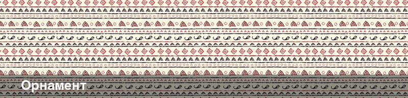 Стеновые панели с изображением оранмента